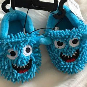 Monster slippers - size 2